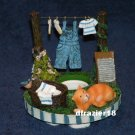 Stay On Top Jar Candle Topper Capper Fresh Laundry CLOTHESLINE S'TOPPER