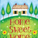 HAPPY HOME Toland Decorative Garden Flag Large Home Sweet Home