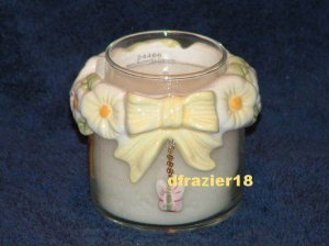 Teenie Candle Topper Bow Ring Stay On Fits Small Jar MINI BUTTERFLY