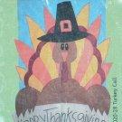 TURKEY CALL Toland Garden Flag Large Decorative Applique Happy Thanksgiving