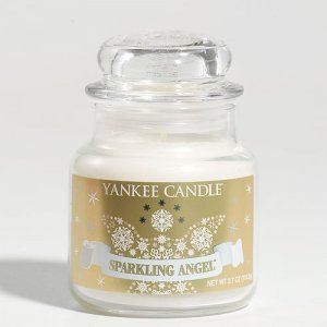 Yankee Candle 3.7 oz Jar Housewarmer SPARKLING ANGEL