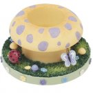 Stay On Top Jar Candle Topper Capper MUSHROOM