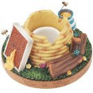 Stay On Top Jar Candle Topper Capper Beehive BEES AND HONEY
