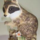 Lefton Racoon Figurine
