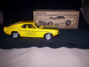 1969 Ford Mustang Die-Cast Metal Vehicle