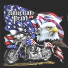 American Pride MotorCycLe Cross Stitch Pattern***L@@K***