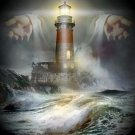 Gods Lighhouse Cross Stitch Pattern**L@@K***