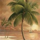 TropicaL PaLm Tree Cross Stitch Pattern***L@@K***