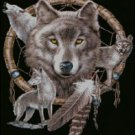 Dreamcatcher and Wolves Cross Stitch Pattern***L@@K***