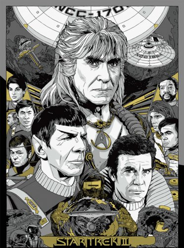 Wrath Of Khan Cross Stitch Pattern***L@@K***