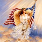 American Angel Cross Stitch Pattern***L@@K***