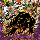 Ed Hardy Black Panther Cross Stitch Pattern***L@@K****
