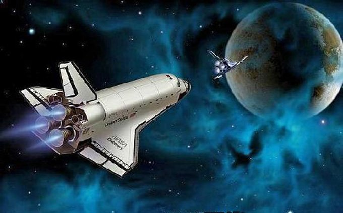 NASA Space ShuttLe Discovery Cross Stitch Pattern***L@@K***