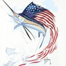 American Marlin Cross Stitch Pattern***L@@K***