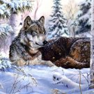 Winter Wolf Cross Stitch Pattern***L@@K***