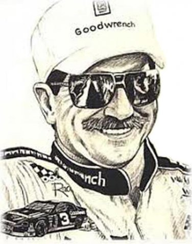 Dale Earnhardt Cross Stitch Pattern***L@@K***