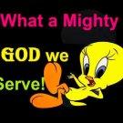 Mighty God Cross Stitch Pattern***L@@K***