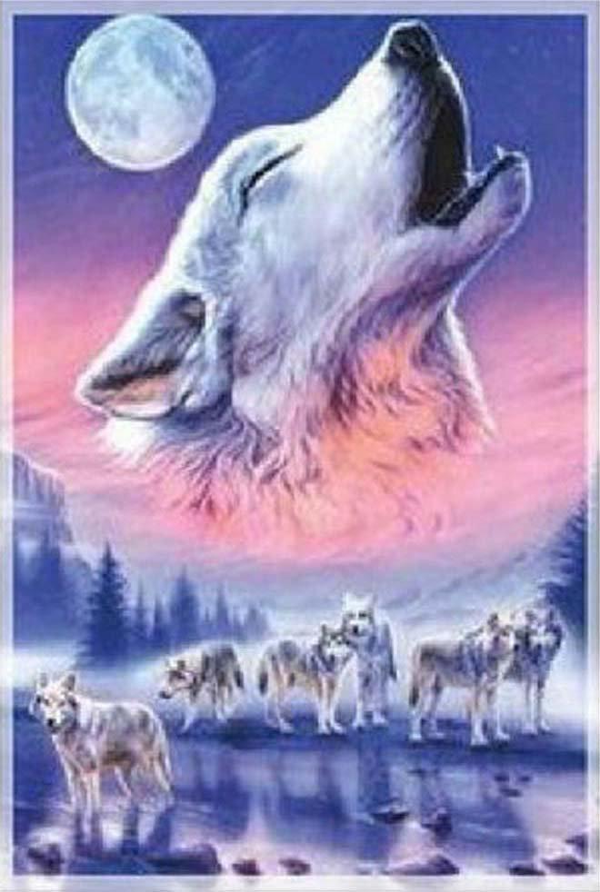 Spirit of the Wolves Cross Stitch Pattern***L@@K***