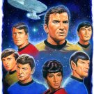 Star Trek Original Crew Cross Stitch Pattern***L@@K***