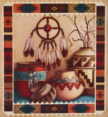 South Western Indian Art Cross Stitch Pattern***L@@K***