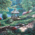 Gazbo Gardens Cross Stitch Pattern***L@@K***