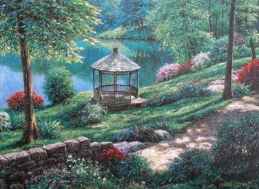 Gazbo Gardens Cross Stitch Pattern***L@@K***
