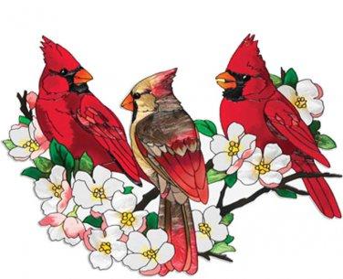 Cardinals In DogWood Tree Cross Stitch Pattern***L@@K***