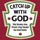 Catch-Up With God Cross Stitch Pattern***L@@K***