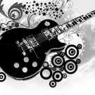Black Guitar Cross Stitch Pattern***L@@K***