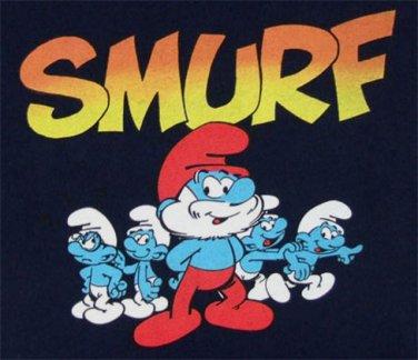 Cartoon Smurfs Cross Stitch Pattern***L@@K***