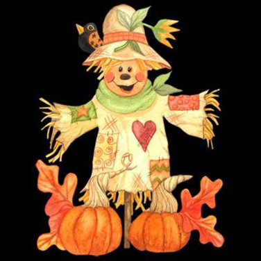 Harvest Scare-Crow Cross Stitch Pattern***L@@K***