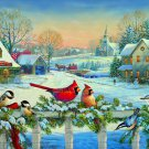 Birds At Christmas Time Cross Stitch Pattern***L@@K***
