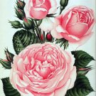 Pink Roses Cross Stitch Pattern***L@@K***