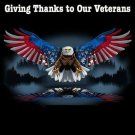 Thanks To Our Veterans Cross Stitch Pattern***L@@K***