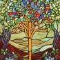 Stained Glass Tree Of Life Cross Stitch Pattern***L@@K***