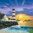 Light House Sun-Rise Cross Stitch Pattern***L@@K***