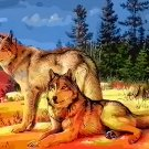 Wolves At Sunrise Cross Stitch Pattern***LOOK***