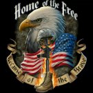 Home Of The Brave Cross Stitch Pattern***LOOK***