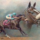 Zenyatta Race Horse Cross Stitch Pattern***L@@K***
