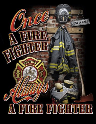 Once A Fire-Fighter Cross Stitch Pattern***LOOK***
