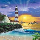 Light House Sun-Rise Cross Stitch Pattern***LOOK***