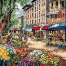 Paris Market Cross Stitch Pattern***LOOK***