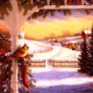 Frosty Winter Morning Cross Stitch Pattern***LOOK***