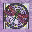 Stain Glass Dragonfly Cross Stitch Pattern***LOOK***