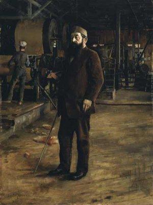 akseli Gallen Kallela-Portrait of Gustaf