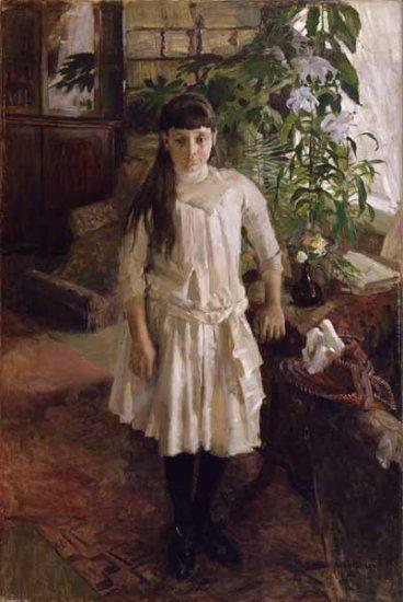 akseli Gallen Kallela-Portrait of Sissi
