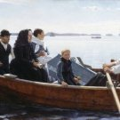 Albert Edelfelt-Funeral of their Child