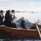 Albert Edelfelt-Funeral of their Child