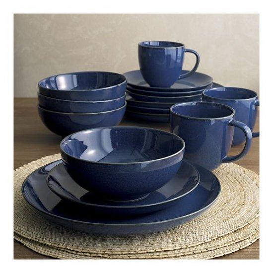 Coast 4-Piece Dinnerware Set