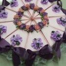 Party Favor - Loose Leaf  Tea in Cake Shaped Box - Set of 10